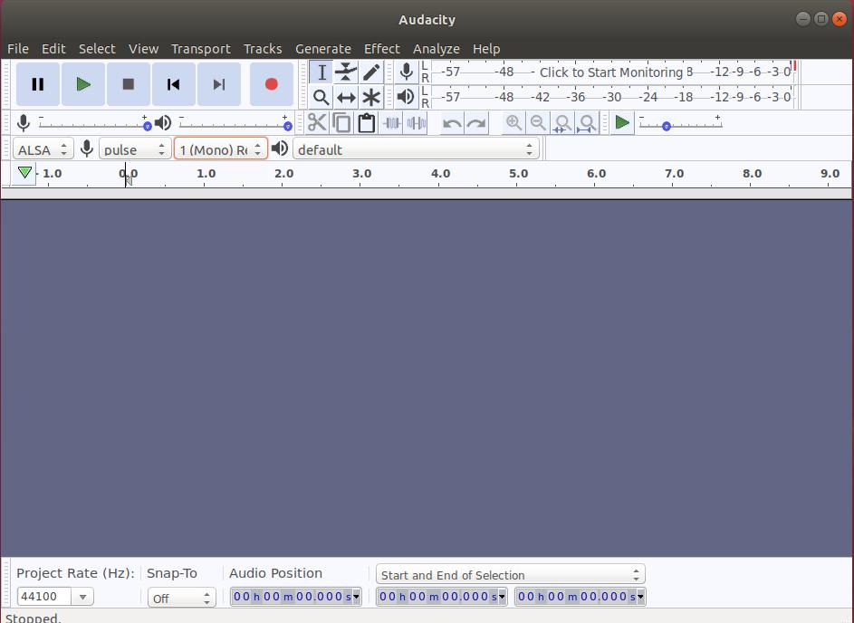 Audacity Screenshot 1