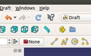 Freecad drawing refresh icon